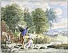 Deutsch: um 1700. Tobias und der Engel