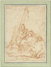 Hyre, Laurent de la - zugeschr.: Maria, den toten Christus beweinend