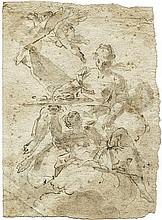 Italienisch: um 1690. Allegorie der Fruchtbarkeit