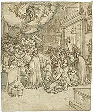 Francken d. J., Frans: Der Tod des gläubigen Mannes