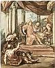 Jordaens, Jacob - Umkreis: Das Gastmahl des reichen Mannes