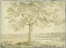 Neyts, Gillis: Studie eines Baums an einem Flußufer