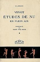 Arlaud, G.L.: Vingt Études de Nu