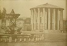 Cuccioni, Tommaso - zugeschrieben: Forum Boarium with Fountain of Tritons and the Temple of Vesta