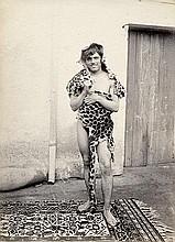 Galdi, Vincenzo: Male nude with leopard skin