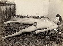 Galdi, Vincenzo: Reclining male nude