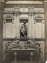 Alinari, Fratelli: Tomb of Lorenzo di Piero de' Medici, Florence