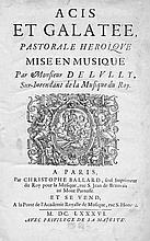 Lully, Jean-Baptiste: Acis et Galatée