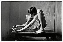 McBride, Will: Young man atop a table