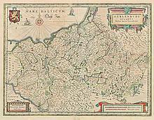 Preußen: 4 historische Karten von Preußen