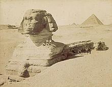 Sebah, Jean Pascal: Ägypten, 6 Fotografien + 2 Beilagen