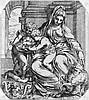Farinati, Orazio: Die Madonna mit dem Kind und dem Johannesknaben, Orazio Farinati, €500