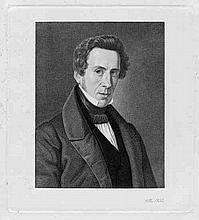 Eckersberg, Erling Carl Vilhelm: Porträt des Malers Martinus Christian Wedseltof Rørbye