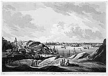 Martin, Johan Fredrik: Vue de Stockholm du côté mérodional