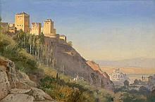 Neumann, Johan Carl: Ansicht der Alhambra