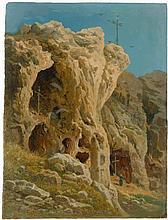 Blaschnik, Arthur: Felsgrotten auf Capri