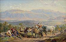 Ulrich, Johann Jakob: Campagnalandschaft