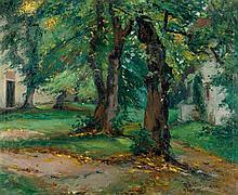 Hönigsmann, Rela: Herbstliche Bäume im Garten