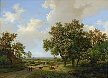 Koekkoek d. Ä., Marinus Adrianus: Holländische Sommerlandschaft