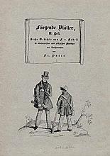Kobell, Franz von: Fliegende Blätter, II. Heft.