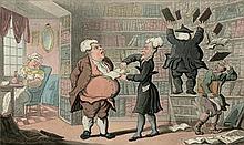 Combe, William und Rowlandson, Thomas - Illustr.: The tour of Dr. Syntax.