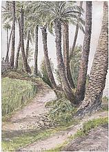 Sells, Alfred Arthur: Gran Canaria: 4 Aquarelle