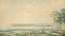 Deutsch: um 1840. Blick auf Istanbul