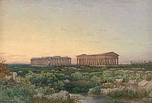 Zielke, Julius: Die Tempelruinen von Paestum