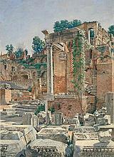 Hansen, Joseph Theodor: Partie im Forum Romanum