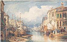 Wyld, William: Der Canale Grande mit Blick auf die Rialto-Brücke