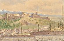 Toft, Peter Petersen: Ansicht der Alhambra