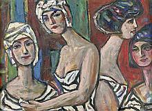 Degner, Arthur: Damen in Bademode