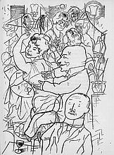 Huelsenbeck, Richard und Grosz, George - Illustr.: Doctor Billig am Ende