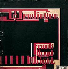 Wendingen und Wright, Frank Lloyd - Illustr.: The life-work of the American architect Frank Lloyd Wright with