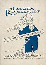 Ringelnatz, Joachim: Flugzeuggedanken
