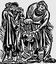 Barlach, Ernst - Illustr.: Der Findling, ein Spiel