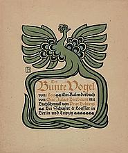 Bierbaum, Otto Julius: Der Bunte Vogel von Achtzehnhundertundneunundneunzig.