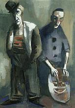 Huhnen, Fritz: Zwei Clowns