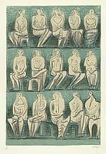 Moore, Henry: Seated figures