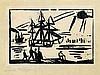 Feininger, Lyonel: Schiffe am Ufer, Lyonel Charles Adrian Feininger, €1,500