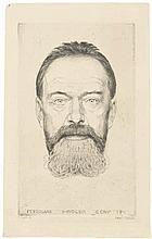 Orlik, Emil: Der Maler Ferdinand Hodler