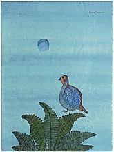 Minami, Keiko: Poule de Faisan et la Lune (Pheasant Hen and Moon)