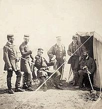 Fenton, Roger: Brigadier Gen. McPherson & Officers of the 4th Division