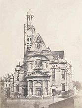 Fortier, Alphonse: Eglise de Saint Etienne du Mont, Paris
