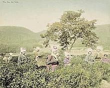 Japan: Souvenir album with landscapes of Japan