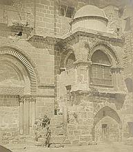 Robertson, James and Felice Beato: Porch of the Church of the Holy Sepulchre, Jerusalem