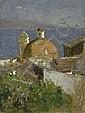 Berninger, Edmund: Blick auf den Golf von Neapel