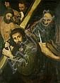 Flämisch, um 1600: Die Kreuztragung Christi
