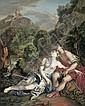 Französisch, um 1680: Acis und Galathea; Pyramus und Thisbe