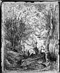 Corot, Jean-Baptiste-Camille: Le Grand Cavalier sous Bois